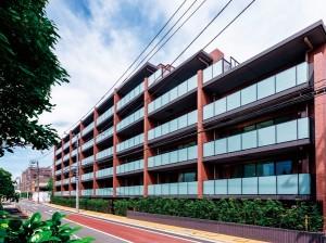シティハウス目黒学芸大学南東側外観(画像出典:SUUMO)